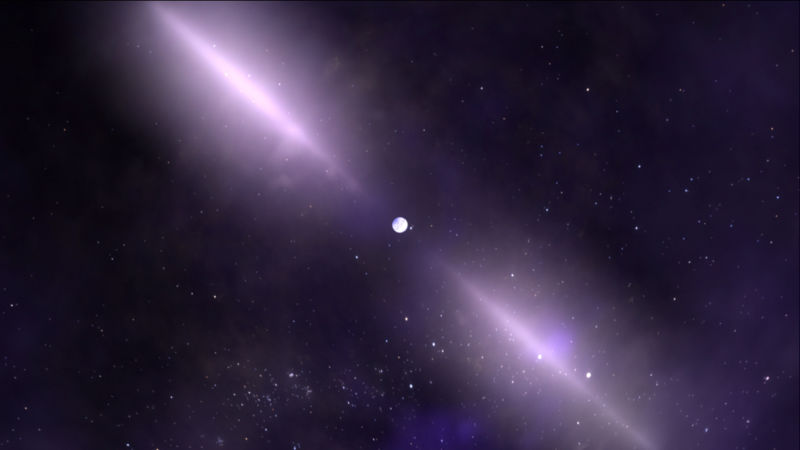 Pulsars are spinning neutron stars, the relics of massive stars gone supernova.