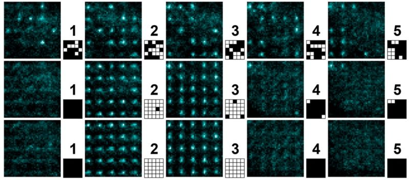 Penn State physicists rearranged a random array of atoms into organized blocks, performing the same function as James Clerk Maxwell's famous 19th-century thought experiment.