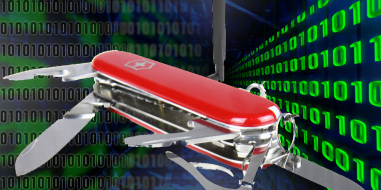 """Researchers find Russian """"VPNfilter"""" malware was a Swiss Army hacking knife 