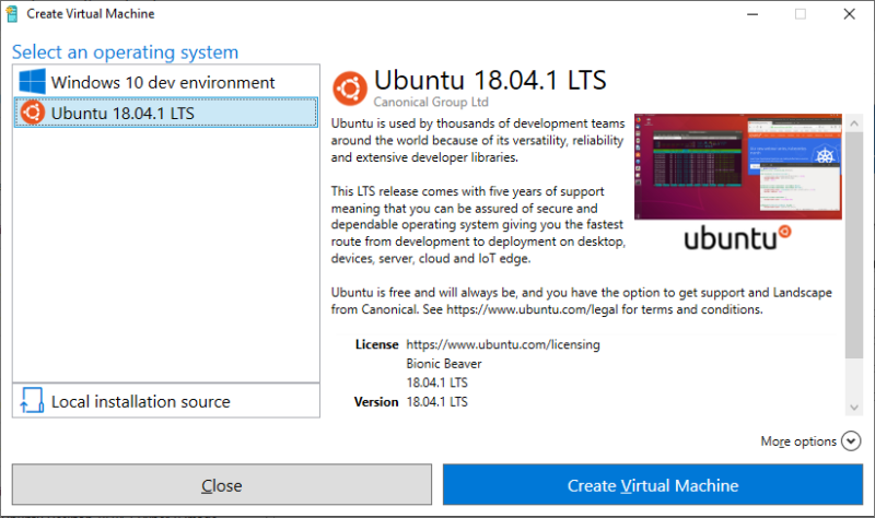 Running Ubuntu VMs on Windows just got a whole lot more streamlined