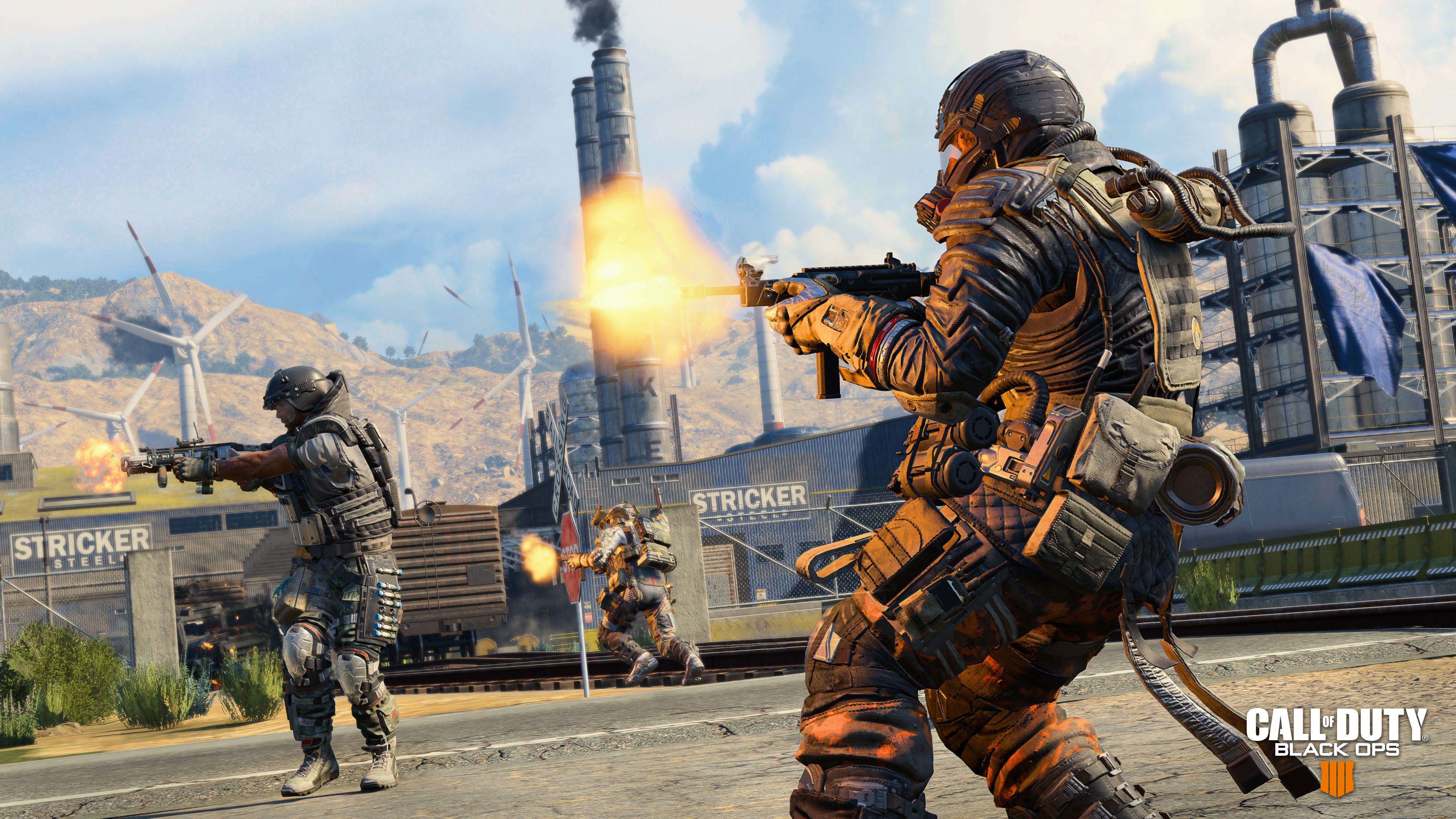 Call Of Duty Black Ops 4 Review War Games Now With Battle Royale