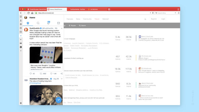 Vivaldi 2 0 review: The modern Web browser does not have to