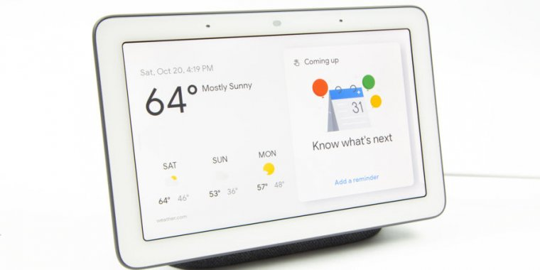 Google Home Hub review—Awesome hardware for Google's nascent