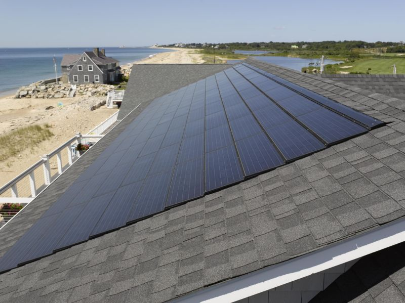 Solar Roof Tiles Cost >> Five Solar Roof Shingles That Aren T From Tesla Ars Technica