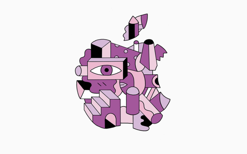 Hexbyte - Tech News - Ars Technica | One of several styled Apple logos associated with the October 30 event.