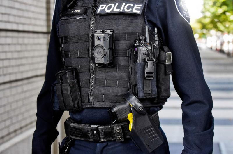 Axon announced new versions of its body-worn camera and Taser weapon.