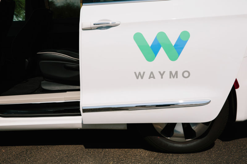 Waymo let a reporter ride in a fully driverless car