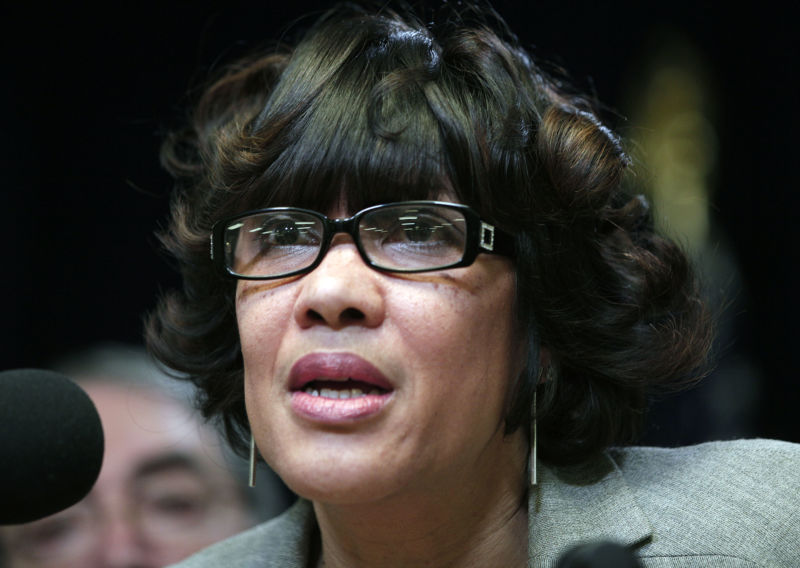 "Flint Mayor Karen Weaver, pictured, called the award ""just disrespectful."""