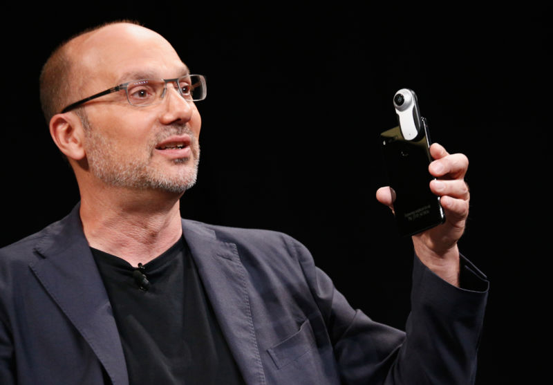Founder and CEO of Essential Products Andy Rubin speaks onstage at WIRED Business Conference at Spring Studios on June 7, 2017 in New York City.