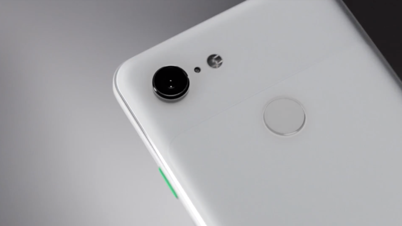 The notch on the Pixel 3 XL sucks