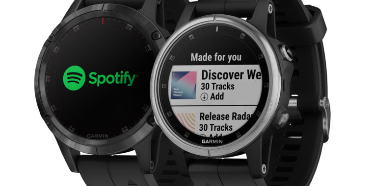 Spotify is now available on Garmin Fenix 5 Plus Smartwatches
