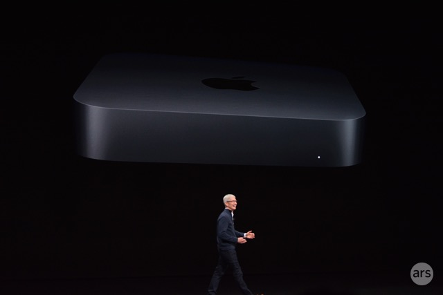Apple finally announces an overhauled Mac mini