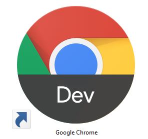 Use Chrome's Dev channel and usually the only clue that you're not using the release channel is that your icon looks like this.