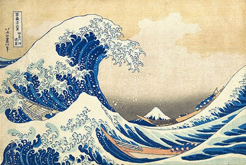 "Hokusai's ""Great Wave."""