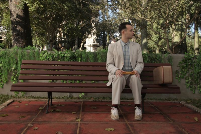 Participants in new neuroimaging study watched an edited version of <em>Forrest Gump</em>.