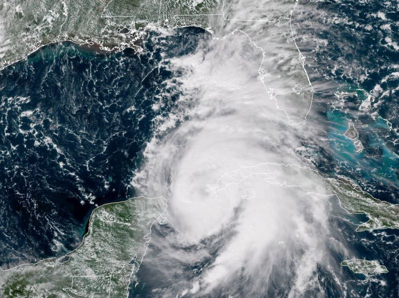 Hurricane Michael Expected to Grow into a Major Hurricane
