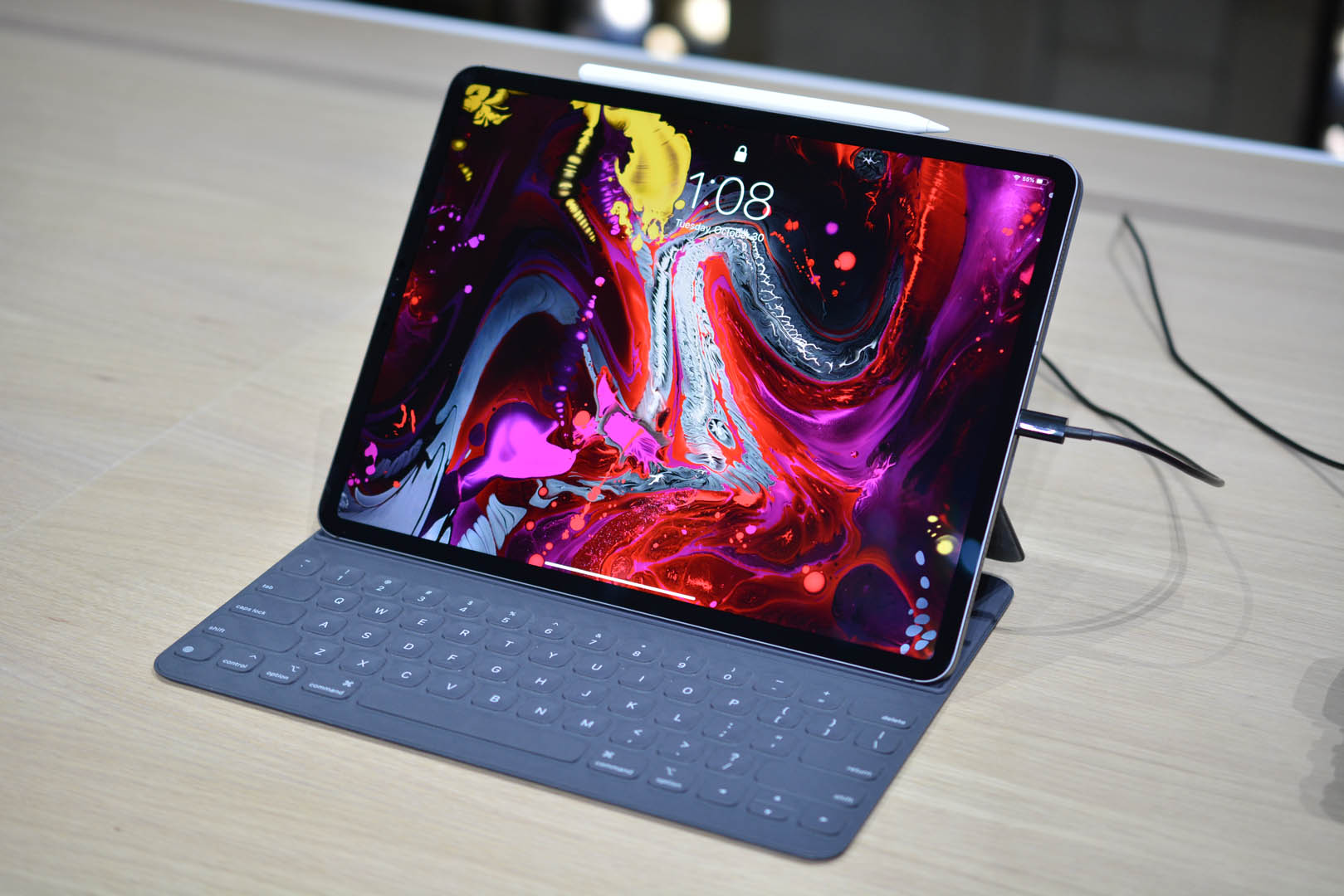 Apple's newest iPad Pros are on sale today.
