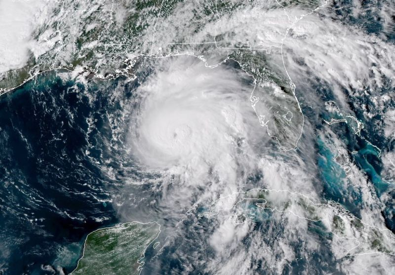 Hurricane Michael Weakens to Category 1 Storm