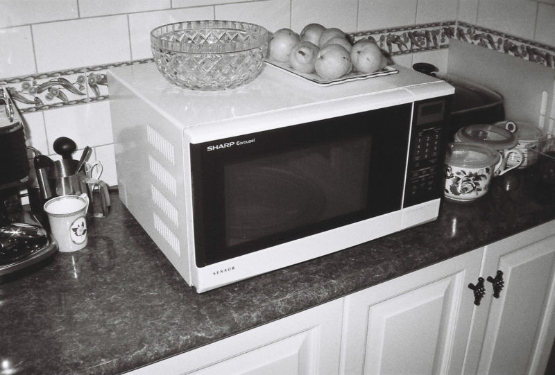 Not this kind of microwave, of course.