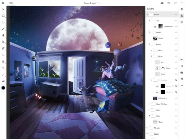 The full Photoshop CC is coming to the iPad in 2019 | Ars