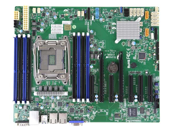 A Supermicro motherboard.