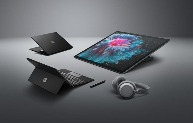 Promotional image of a variety of electronic devices.
