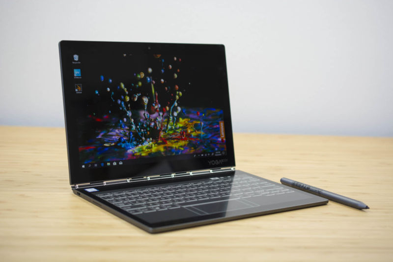 Lenovo Yoga Book 2018 review: The keyless keyboard returns, now in E Ink