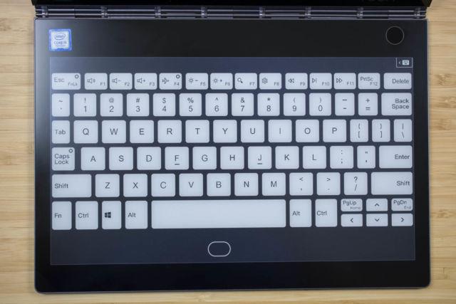 Lenovo Yoga Book 2018 review: The keyless keyboard returns