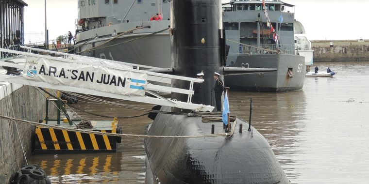 Doomed Argentine sub found a year after its disappearance