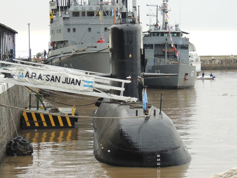 b17b3cb0b92 Doomed Argentine sub found a year after its disappearance