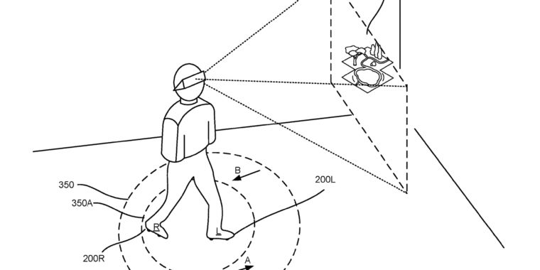 Forget VR treadmills—Google patents motorized, omnidirectional VR sneakers