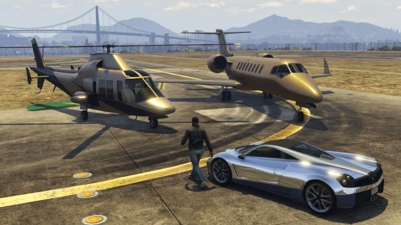 Gameplay image from GTA Online