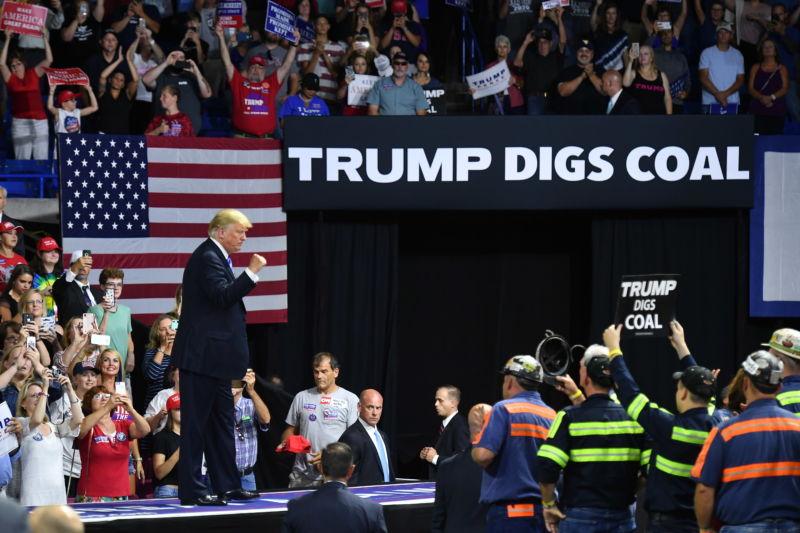 Trump coal rally