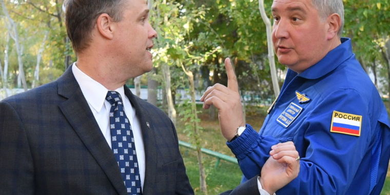 Russia's space chief is hopping mad over most recent US restrictions thumbnail