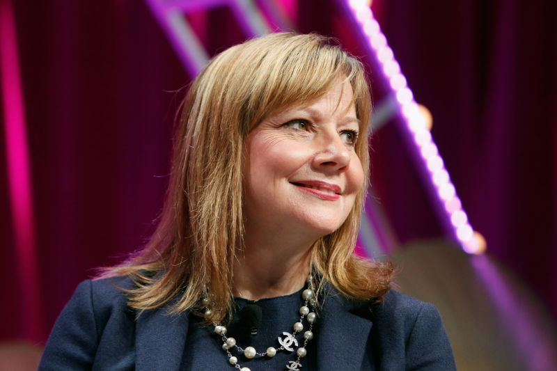 Mary Barra, CEO of General Motors, in Washington, DC, in 2015.