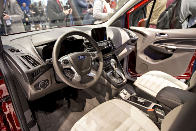 A Ford vehicle interior