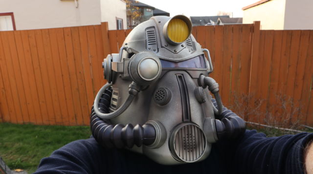 """We unbox the $200 """"power armor"""" Fallout 76 version so you don't have"""