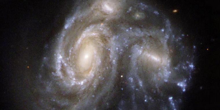 Galaxy Mergers Hide Ravenous Supermassive Black Holes