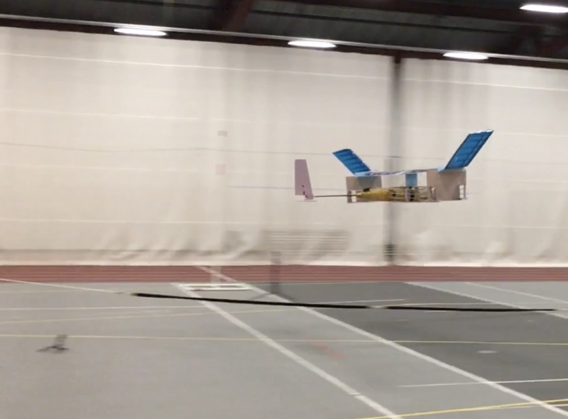 Ion drive meets drone, as small plane flies with no moving parts