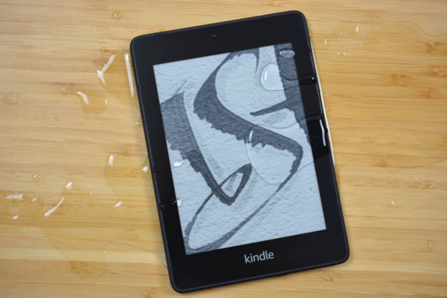 We think Amazon's waterproof Kindle Paperwhite is still the best e-book reader for most people.