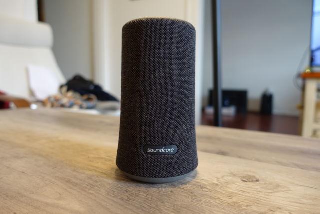 Anker's SoundCore Flare speaker.