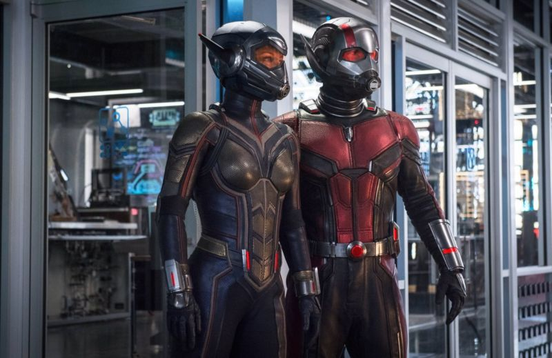 Scott Lang, aka Ant-Man (Paul Rudd) and Hope van Dyne, aka Wasp (Evangeline Lilly), would need 100 times more oxygen than usual at smaller waves.