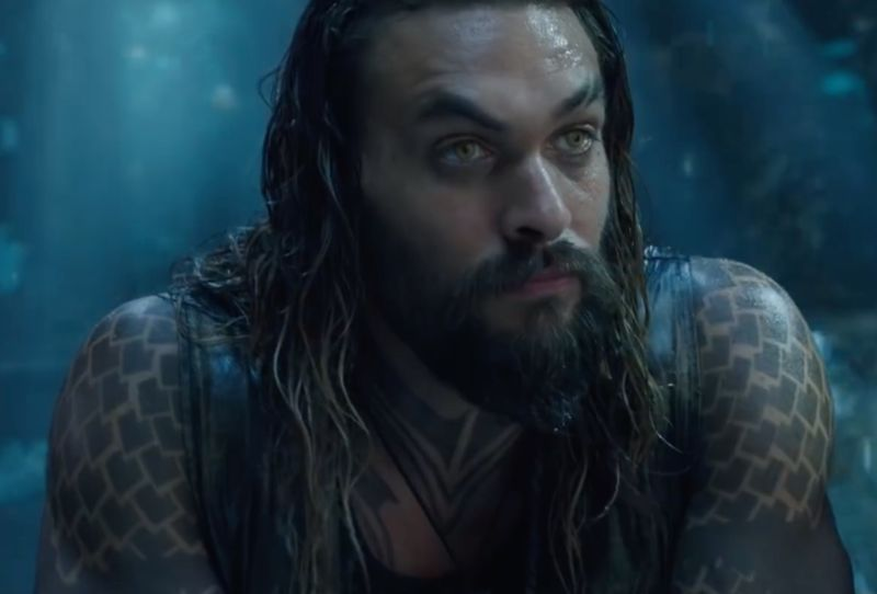 Jason Momoa Stars As Arthur Curry Aka Aquaman Half Human Half Atlantean