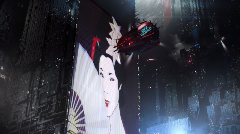 A still from Warner Bros.' <em>Blade Runner: Black Out 2022</em> short, which may be a good hint of what to expect from this upcoming, brand-new anime series in the same universe.