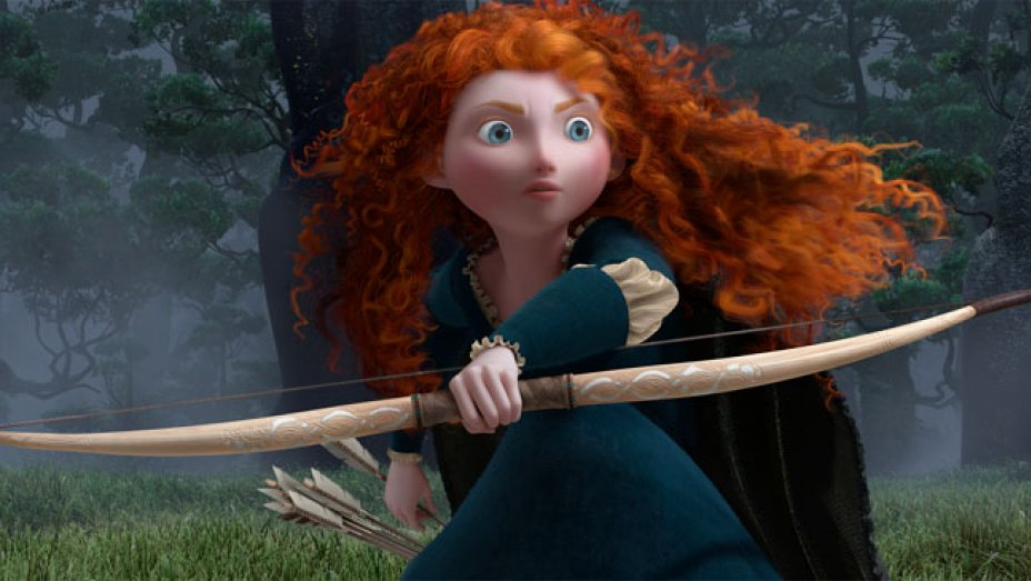 To realistically capture Merida's curly red hair in <em>Brave,</em> Pixar's animators had to create new algorithms.