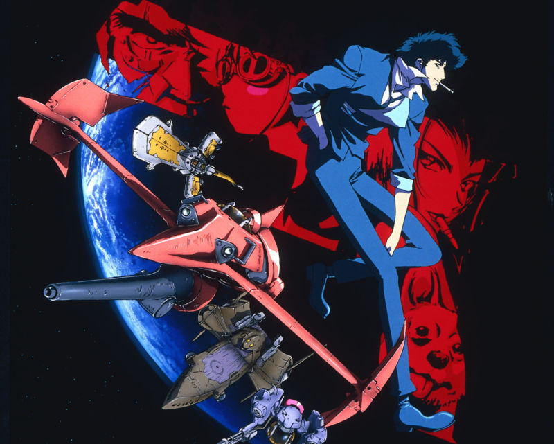 Original production company Sunrise is attaching this image to its announcements about the new live-action <em>Cowboy Bebop</em>. But does that mean the series will look anything like this? There's no telling at this point.