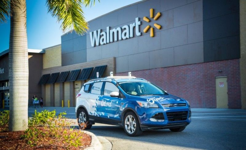 Walmart agrees to work with Ford on self-driving grocery delivery pilot