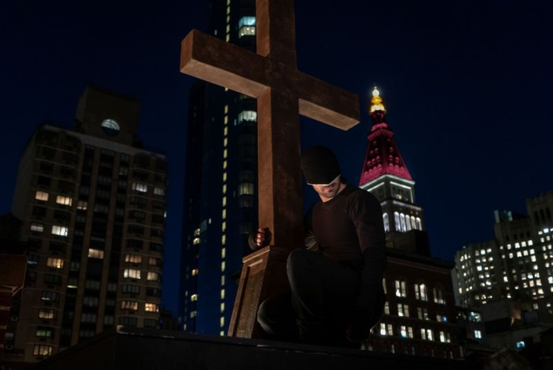 Promotional image of TV series Daredevil.