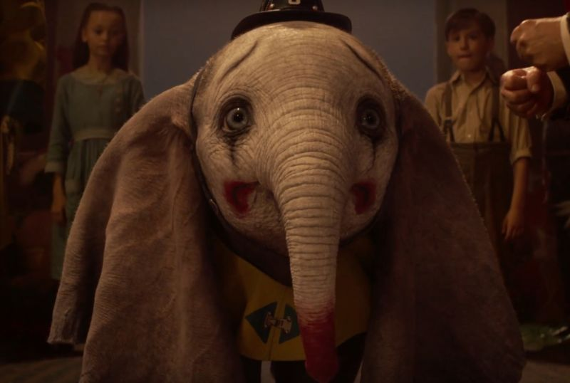 Tears of a clown: Everyone's favorite misfit baby elephant with the big floppy ears is back.