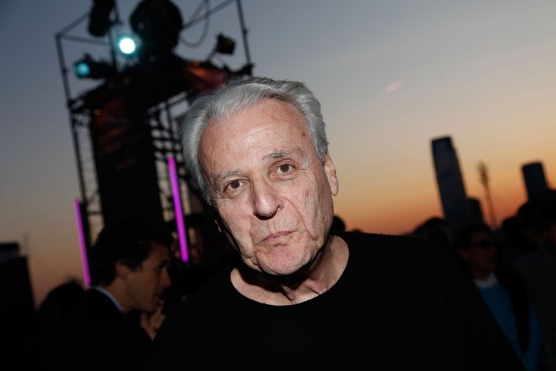 "Screenwriter William Goldman attends a special screening of <em>Butch Cassidy and the Sundance Kid</em> at Tribeca Film Festival in April 2009.""><br /> < img src ="